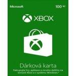 Dárková karta Xbox 100 Kč (XONE DIGITAL) (XONE)