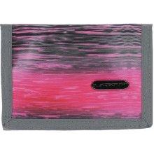 Loap Peněženka Club Gray Pink Black