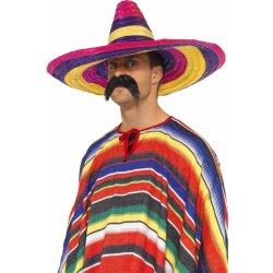 8dfe23956c5 Karnevalový kostým mexické sombrero barevné