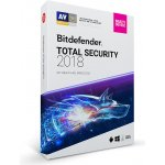 Bitdefender Total Security 5 lic. 1 rok (CL11911005-EN)
