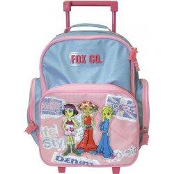 Cool Fox co. školní batoh trolley girls Heureka.cz