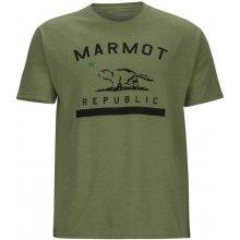 Marmot Republic Tee SS zelená