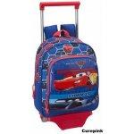CurePink batoh na kolečkách Cars 3 Lightning Speed 611809020
