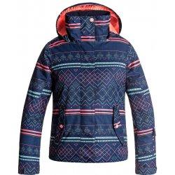 Dětská bunda a kabát Roxy Jetty Girl Jacket Modrá 68c47619ac3