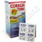 Corega Tabs Antibakteriální čistící tablety na zubní náhrady 136 tablet