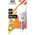 INQ LED žárovka E14 ilum.7W P20 Teplá bílá IN712520