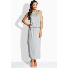 a08ee319406a Lemoniade dámské šaty L213 šedá