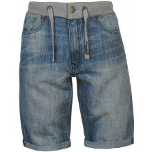 No Fear Denim Shorts Mens Bleaced Wash