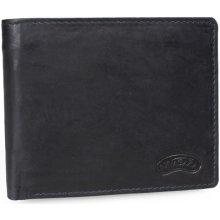 Nivasaža N212 MTH B pánská kožená peněženka černá