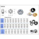 M08 Matice přesná /8/ TZN - DIN 934 / ČSN 021401.59 / ISO 4032~ 10000.14.04.080.000