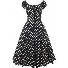 1d1ce04ddb1 Collectif dámské retro šaty Dolores s puntíky