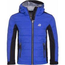 Alpine Pro Wiliso KJCK065 dětská podzimní bunda světle modrá