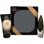 Naomi Campbell Queen of Gold EdT 15 ml + sprchový gel 50 ml dárková sada