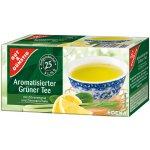 G&G Aromatický zelený čaj s citrónem 25 sáčků 43.75 g