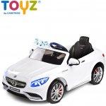 Elektrické auto TOYZ Mercedes-Benz S63 AMG white