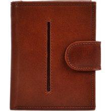 Hellix Dámská kožená peněženka P 1012 červená