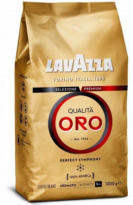 Recenze Lavazza Qualitá Oro zrnková Káva 1 kg