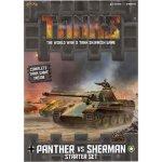 Gale Force Nine Tanks: Panther vs Sherman