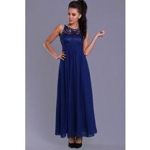 acfdc94a384 Eva   Lola dlouhé plesové šaty královsky modrá