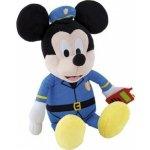 IMC TOYS plyšová postavička se zvukem MICKEY MOUSE Policajt