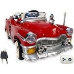 Daimex Dětské elektrické auto Retro Kuba s 2.4G DO 12V vínové