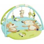 BABY FEHN Hrací deka s hrazdou a aktivitami Monkey Donkey