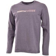 Northfinder Pánské triko CREW černé / TR-3119SI 339