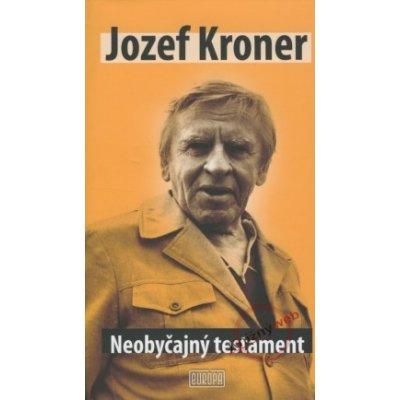 Neobyčajný testament - Jozef Kroner