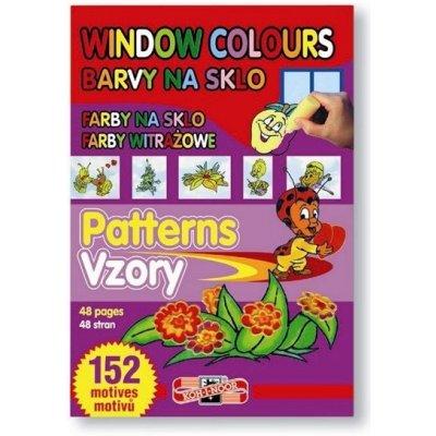 Šablony pro barvy na sklo 152 motivů
