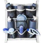 Kapsář na box Equitheme modrý šedý
