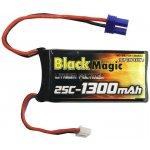 LiPol Black Magic 7.4V 1300mAh 25C EC3