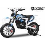 Nitro dětská elektro motorka 500w Gepard Pitbike Li ion baterie