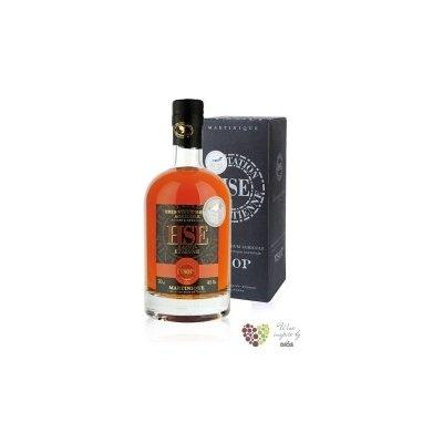 """HSE agricole tres vieux """" VSOP """" aged rum of Martinique 45% vol. 0.70 l"""