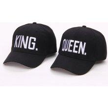 41623dd64ec Párové čepice King and Queen