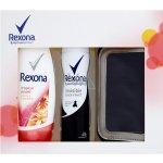 Rexona Invisible Black + White Diamond Woman deospray 150 ml