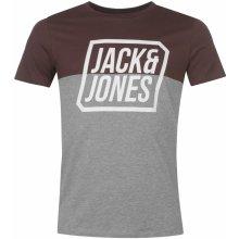 Jack & Jones Cre Half T Snr74 Fudge