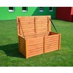 BOX na podušky dřevěný - truhla na polstry a nářadí dřevěná 97/4
