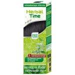 Henna Herbal Time přírodní barva na vlasy (Černá -7) 75 ml