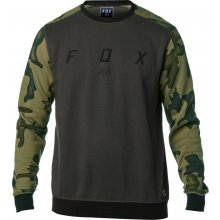 Fox District Crew Fleece Black Vintage