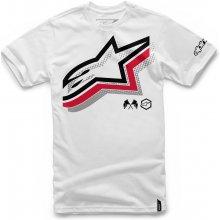Alpinestars Pánské bílé tričko HALOGEN TEE krátké 1036-72003 20