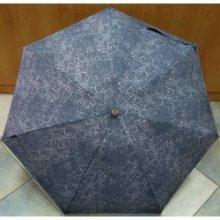 Deštník mini skládací Bisetti 35072 jeans