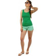 edf5bf13dbb YooY dámské teplákové mini kraťasy zelená
