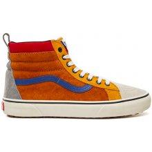 Vans SK8-HI MTE MTE sudan brown mazarine blu pánské boty na zimu f550043206