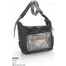 kabelka Caramel 503000 stříbrná 54aa06a7530