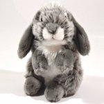 Plyšový Zajíc šedý