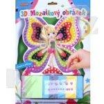 SMT Creatoys 3D mozaikový obrázek Motýlková víla s houbičkami