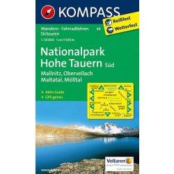Nationalpark Hohe Tauern Sud Mapa 1 50t 49 Korutany Kom 49 Od 209