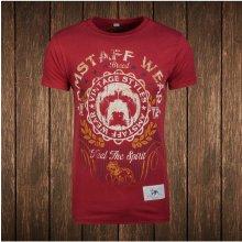 Amstaff Vintage Malex T Shirt bordeaux