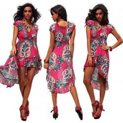 LM moda letní šaty na pláž či k moři 0123 růžová alternativy ... 3b875b287c