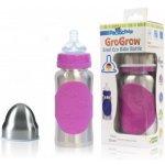 Pacific Baby GroGrow nerezová ekololáhev růžová 300ml 0c6d55c26ec